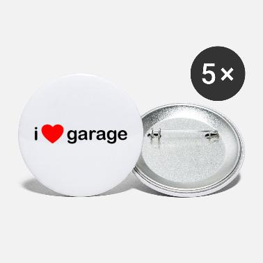 Garage-music I Love Garage DJ - Small Buttons