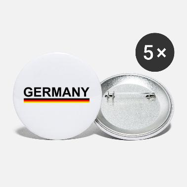 European Championship World Cup European Football Championship Germany with flag - Small Buttons