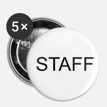Staff STAFF (Personnalisable) - Badge petit 25 mm