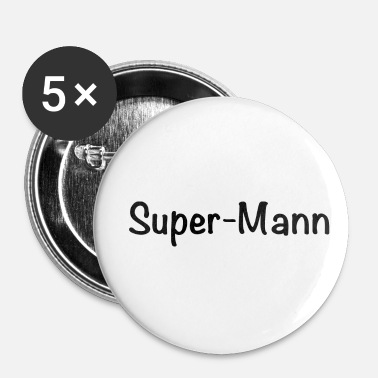 Super Super Man - Buttons/Badges lille, 25 mm