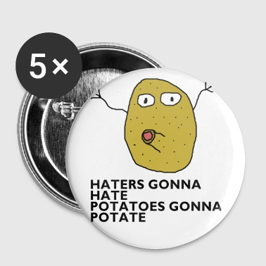 Haters gonna hate - Buttons small 25 mm