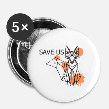 Us Save us - Badge petit 25 mm