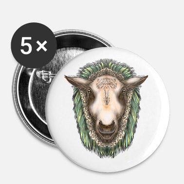 Zed The Sheep van Jon Ball - Buttons klein 25 mm