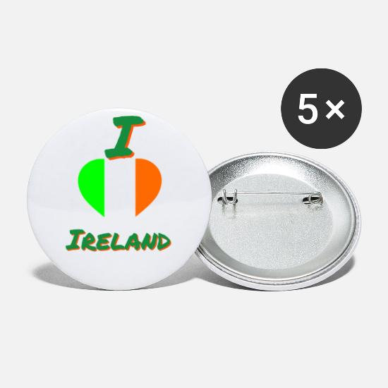 Love Buttons - ireland - Small Buttons white