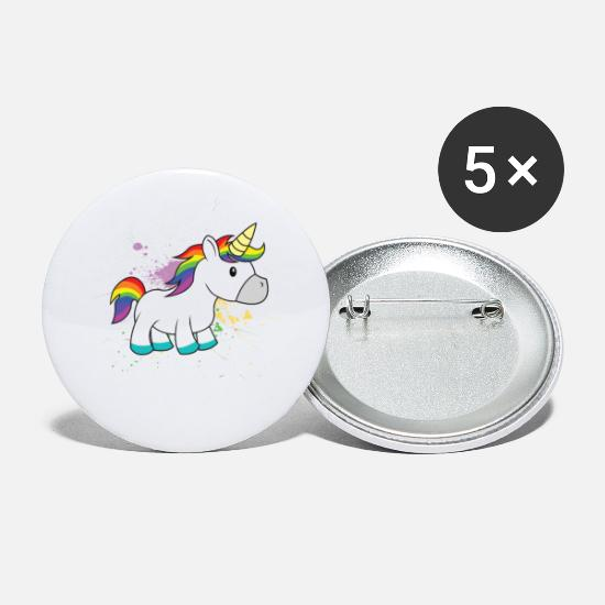 Unicorno Bottoni & Spille - Ew People Unicorn - Spille piccole bianco