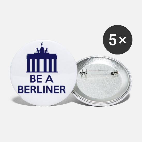 Jfk Buttons - Be A Berliner - Small Buttons white