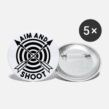 Aims AIM AND SHOOT - Small Buttons