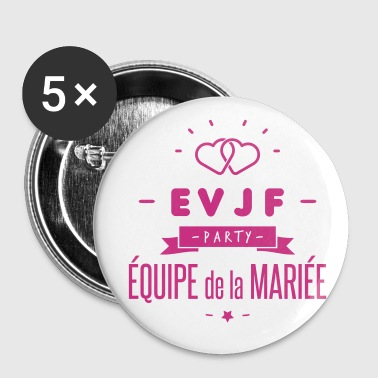 Jeune EVJF party - Badge petit 25 mm