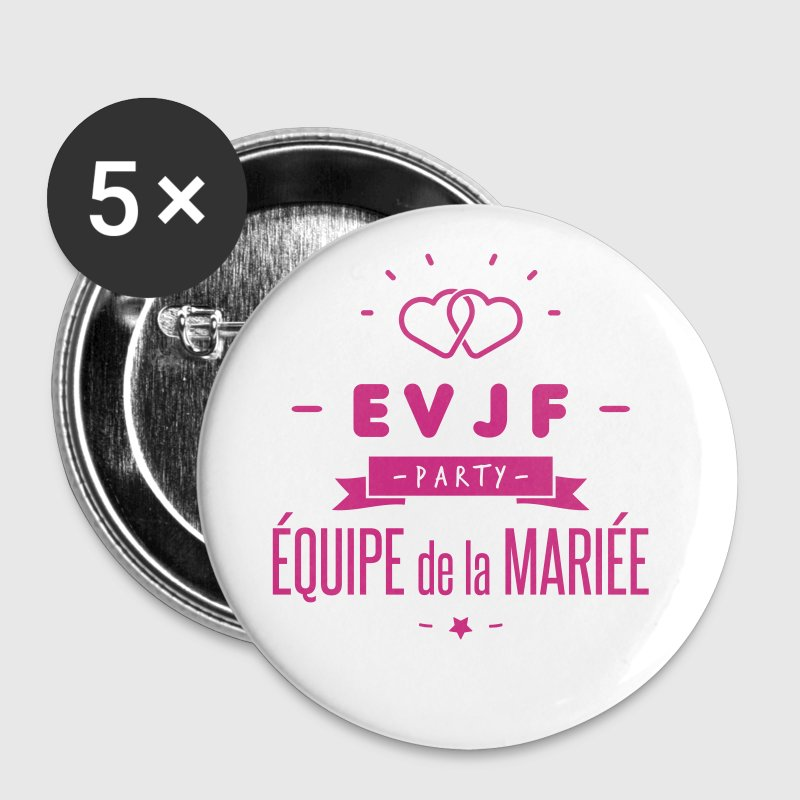 EVJF party - Badge petit 25 mm