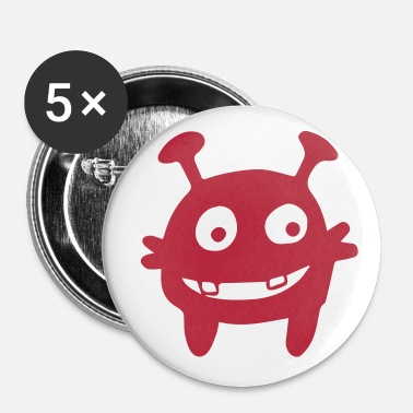 Le Havre Monstre extraterrestre - Badge petit 25 mm