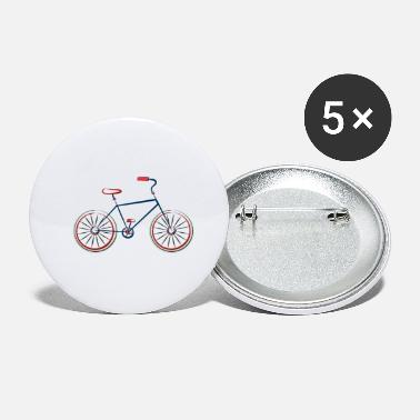 Ride Bike Bike, bike, ride, biking - Small Buttons