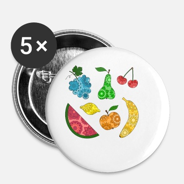 fruit salad - Buttons small 25 mm