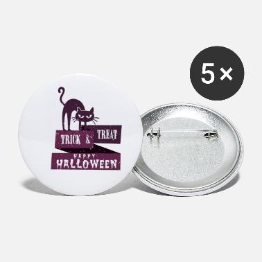 Trick Or Treat HALLOWEEN Trick or treat - Buttons klein