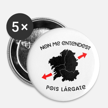 Linguistique Tu ne me comprends pas - Badge petit 25 mm