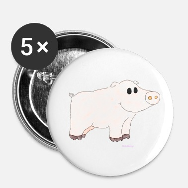 Gris Gris / gris - Buttons/Badges lille, 25 mm
