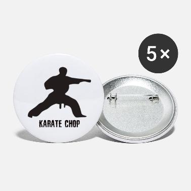 Chop Karate chop - Small Buttons
