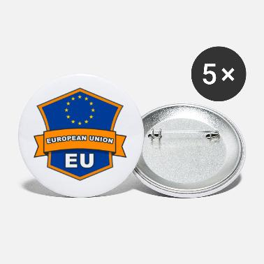 Eu Badge: EU - Small Buttons