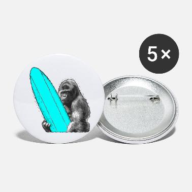 Livestyle Surfing Monkey Ape Surfing - Small Buttons
