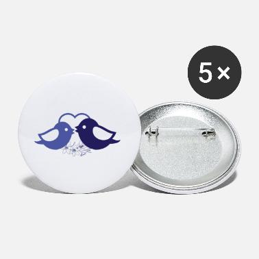 Bird Bird birds bird wedding - Small Buttons