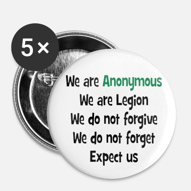 Anonymous Anonymous - Badge petit 25 mm