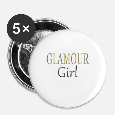 Glamour Glamour Girl - Buttons/Badges lille, 25 mm