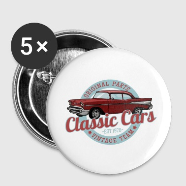 Classic Car Classic cars - Buttons small 25 mm