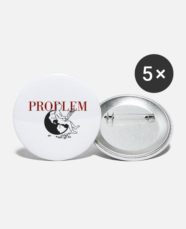 Earth Buttons - PROBLEM - Small Buttons white