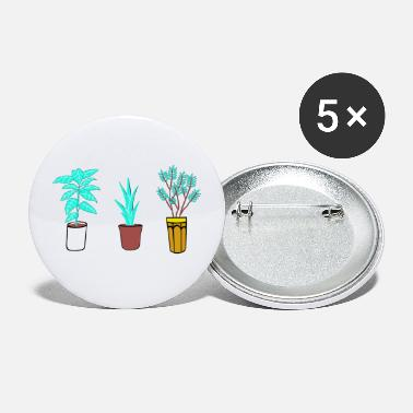 Bloom Plant Bloom Graphic - Small Buttons