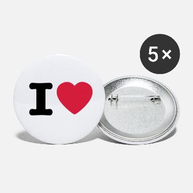 I love / I heart DELUXE - Small Buttons