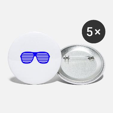 Shade blue shades - Small Buttons