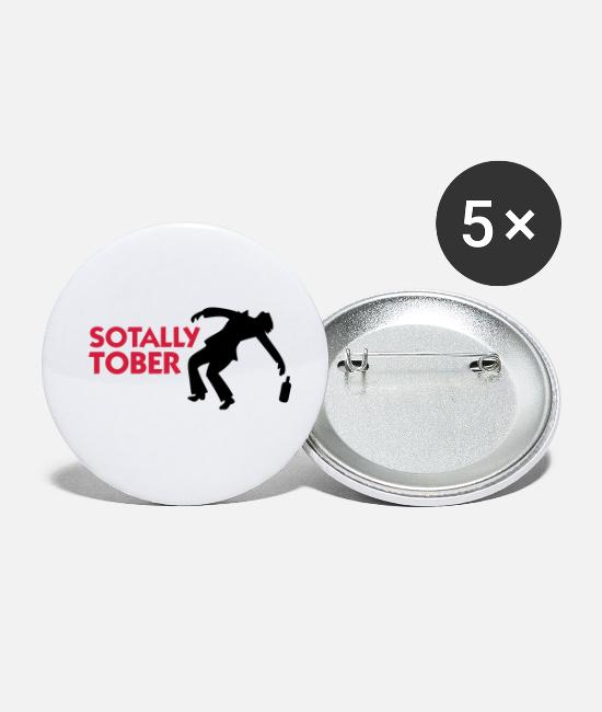 Alcohol Buttons - Completely sober! - Small Buttons white