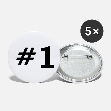 Number One Number One - Small Buttons