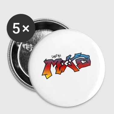 Life Is MAD CGI Makeover TM collaboration - Buttons small 25 mm