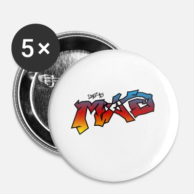 Nottingham Life Is MAD CGI Makeover TM collaboration - Buttons small 25 mm
