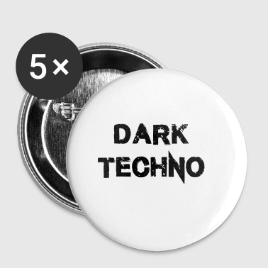 Dark Techno 2.0 - Buttons klein 25 mm