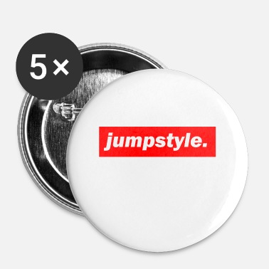 Jumpstyle techno Mischpult basso rosso bpm Jumpstyle - Spilla piccola 25 mm