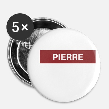 Pierre Pierre - Badge petit 25 mm