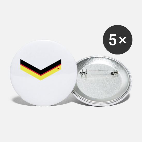 Federal Republic Of Germany Buttons - Germany Style - Small Buttons white