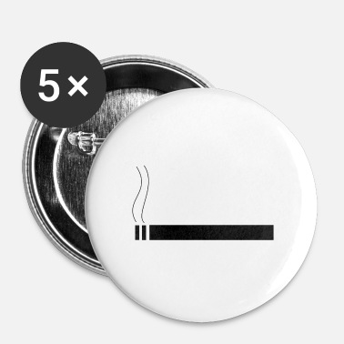 Cigarette cigarette - Badge petit 25 mm