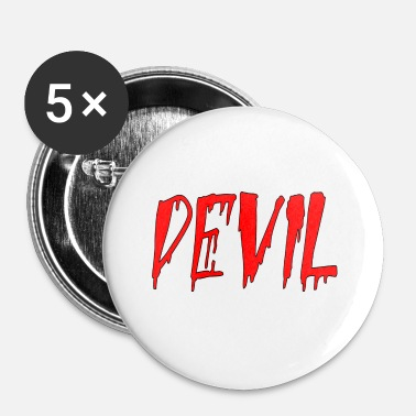 Diable diable - Badge petit 25 mm