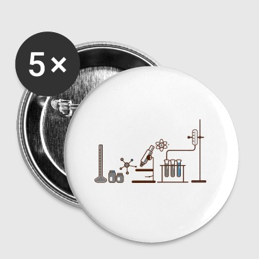 Chimie chimie - Badge petit 25 mm
