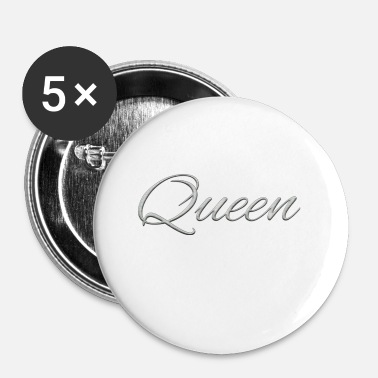 King Queen Queen & King - Badge petit 25 mm