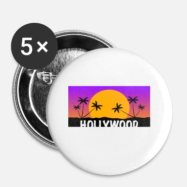 Hollywood HOLLYWOOD Shirt - Chapa pequeña 25 mm