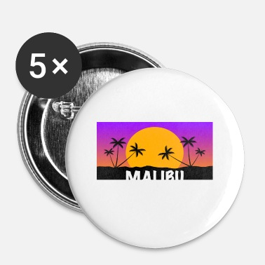 Malibu Malibu Shirt - Spilla piccola 25 mm