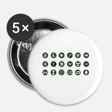 Devise Devises crypto - Badge petit 25 mm