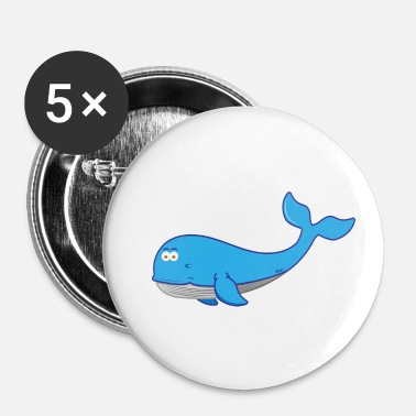 Baleine Baleine baleine - Badge petit 25 mm