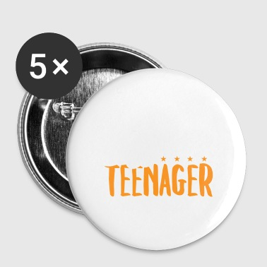 Adolescent Officiel - Ados Teen Teen Gift - Badge petit 25 mm