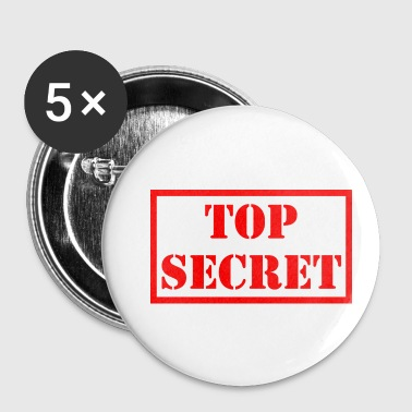 Top secret - Badge petit 25 mm