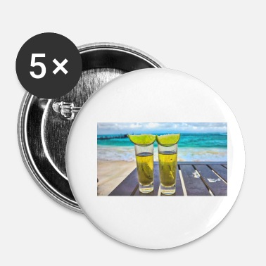 Long long drinks - Badge petit 25 mm