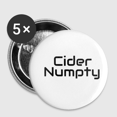 Scottish Scottish Slang Numpty - Buttons small 25 mm